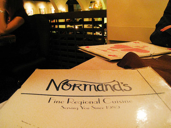 Normand's Restaurant - Image Credit: https://www.flickr.com/photos/mastermaq/3287248470/